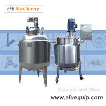 Stainless Steel  Vacuum Tank Mixer