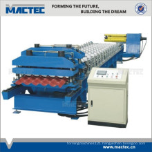 Automatic roofing forming machine