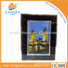 Eco Friendly Pen Shell Frame Photo with Silver Edge