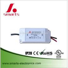Conductor de proyector de corriente constante de salida única 350ma 16w con tamaño pequeño
