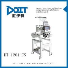 DT 1201-CS diseños de bordado máquinas de coser swf bordado máquina máquina de bordado compacto de una sola cabeza