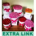 China-Lieferant-runde neue erstklassige schwarze Folie, die kundengebundene Pappblumen-Rohr-Geschenkbox mit Griff-Band stempelt