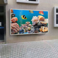Programmable P5 Outdoor LED Display on Wall