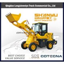 Precio bajo 800 kg, cargadores frontales de la capacidad del cubo de 0.55m3 en venta