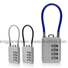 Luggage Digital Combination Code Lock with Cable