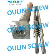 Bimetallic Twin Parallel Screw and Barrel