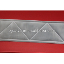 cinta reflectante blanca de PVC cristal