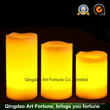 Flameless LED Candle with Timer for Different Sizes-3 Size