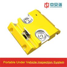 Sob o sistema de inspeção de veículos com reconhecimento de número de veículo