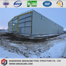 Insulated Steel Structure Warehouse with Peb Frame