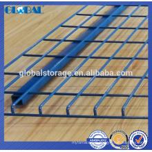 Steel industrial wire mesh decking for storage