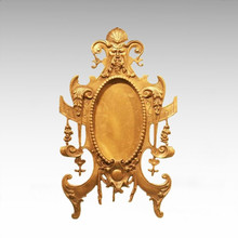 Espejo de mesa estatua estilo europeo escultura de bronce TPE-930/931