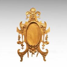 Table Mirror Statue European Style Bronze Sculpture TPE-930 / 931