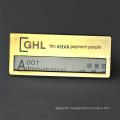 Made In China Custom Design Cheap Magnetic Rectangular Name Badge Name Plate