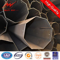 4.5mm Wall Thickness Round 6m CCTV Steel Pole