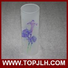 Vase à fleurs décoratif Sublimation vide Vase verre
