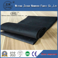 Black 100% PP Nonwoven Fabric for Shopping Bags / Gifts Bags