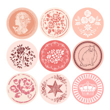 Custom design factory paper sticker