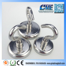 Neodym-Topf-Magneten Starke Haken-Magneten für Küchen-Magneten