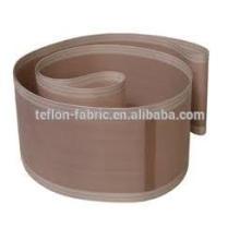 China fabricante PFOA libre de alta resistencia a la temperatura de banda de cinta transportadora de teflón antiadherente