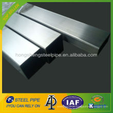 Tubo quadrado de aço inoxidável 316