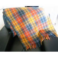 Tiro tejido a máquina de lana de tela escocesa de color tejido