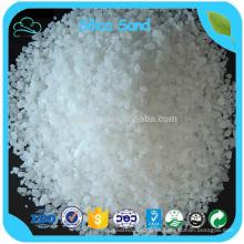 Alta arena graduada de la arena de la silicona del precio de fábrica de Si02 el 98% / del cuarzo para el vidrio