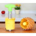 2018 promocional ferramenta de cozinha item aço inoxidável fatiador de frutas inoxidável abacaxi corer