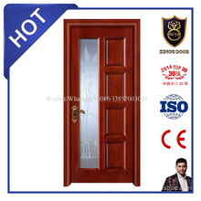 Factory Supply Office Wood Door with Glass/Wood Framed Glass Doors