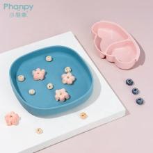 Детская силиконовая тарелка для ужина в форме всасывающего облака