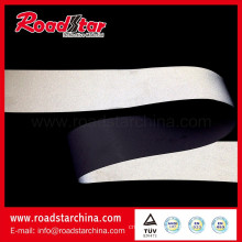 Mid-intensity reflective PVC microfiber leather for shoes
