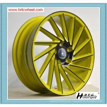 O projeto lastest do preço competitivo da qualidade excelente modifica a fábrica das bordas das rodas da liga do carro em China por mais de 15 anos