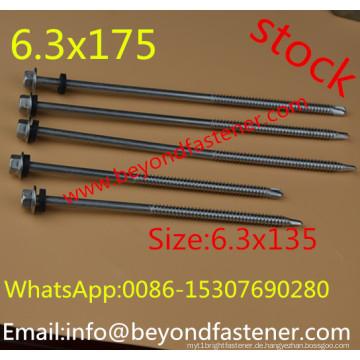 Lange Schraube selbstschneidende Schraube