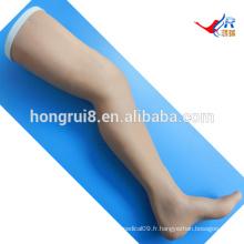 Modèle de formation à la suture chirurgicale ISO, jambe de suture