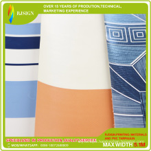 Manufacture Produce Striped Tarpaulin for The Awning