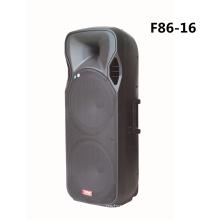 Двойной 15-дюймовый Bluetooth-динамик с беспроводным микрофоном F86-16