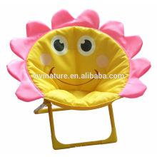 foldable portable cartoon kid moon chair