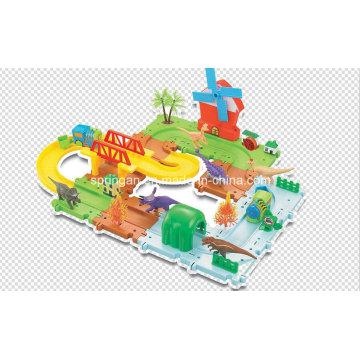 Dinosaures-Trains Set Track Toys avec haute qualité