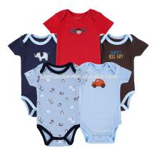 2017 New Style Baby 5 Pcs Sports Bodysuit Adult Baby Romper