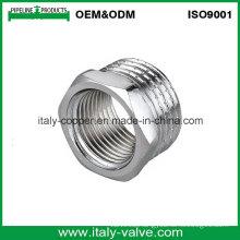 Top Quality Brass Polishing Chromed Forged Bushing (AV-BF-8017)