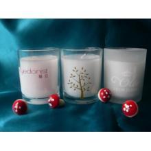 velas de artesanato de vidro vela perfumada