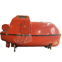 FRP 30 persons lifeboat marine freefall lifeboat solas totally enclosed life boat solas