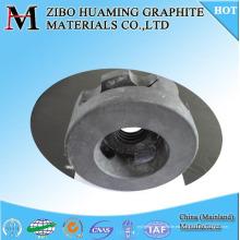 Impulsor de rotor de desgasificación de grafito de carbono para fundir