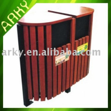 Good quality Outdoor Wooden Rubbish Bins