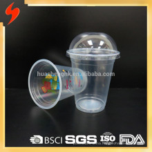 ISO Certificate 14oz Clear Plastic Disposable Coffee Cup