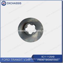 Genuine Front Brake Disc for Ford Transit V348 6C11 1125 AB