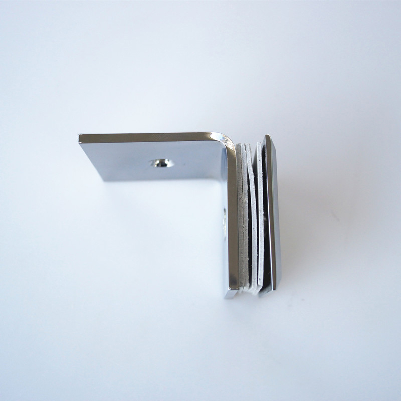 Brass Glass Clamp
