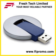 UFO plástico giratorio USB Flash Drive (D206)