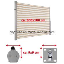 CE-markierte Aluminiumarm-Doppelseitige Markise