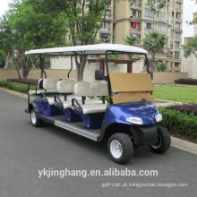 Venda direta da fábrica de 8 assentos Carrinho de golfe elétrico para sightseeing, certificado do CE do carro de canela